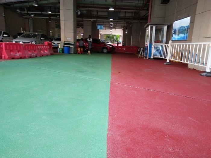 彩色陶瓷防滑路面项目工程:厦门大学附属第一医院