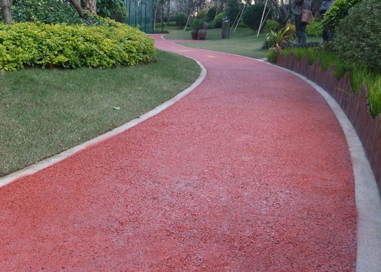 彩色透水地坪材料