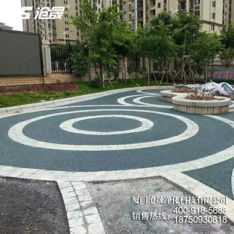 透水路面起到什么作用致使市政路面要做透水?