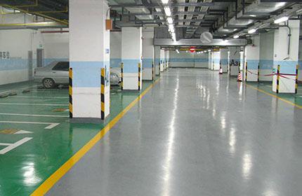 停车场环氧地坪施工采用地坪漆有哪些优点?