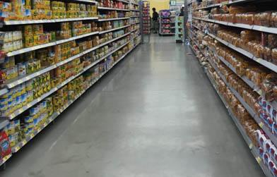 超市选用万博manbetx官网手机版下载彩砂自流平时考虑的因素有哪些?