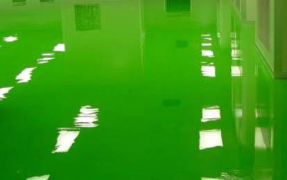 环氧自流平地坪漆如何做出厚度为2mm的工程?