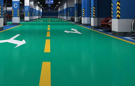 车库环氧树脂地坪的施工工艺及注意事项有哪些?