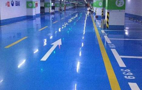 环氧地坪质量的保证与地坪漆涂装施工技术密切相关