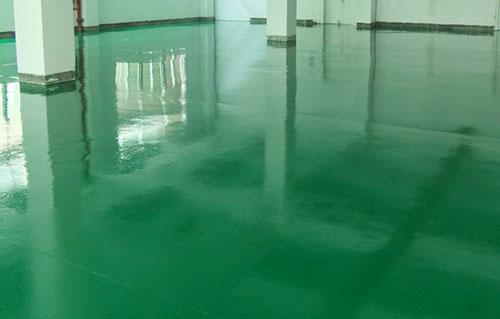 地坪漆施工过程中遇到的一些问题及处理方法